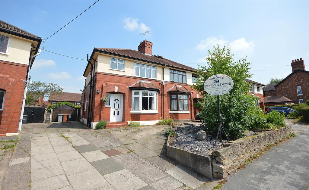 3 Bedrooms Semi Detached House for sale in Bradeley Road, Haslington
