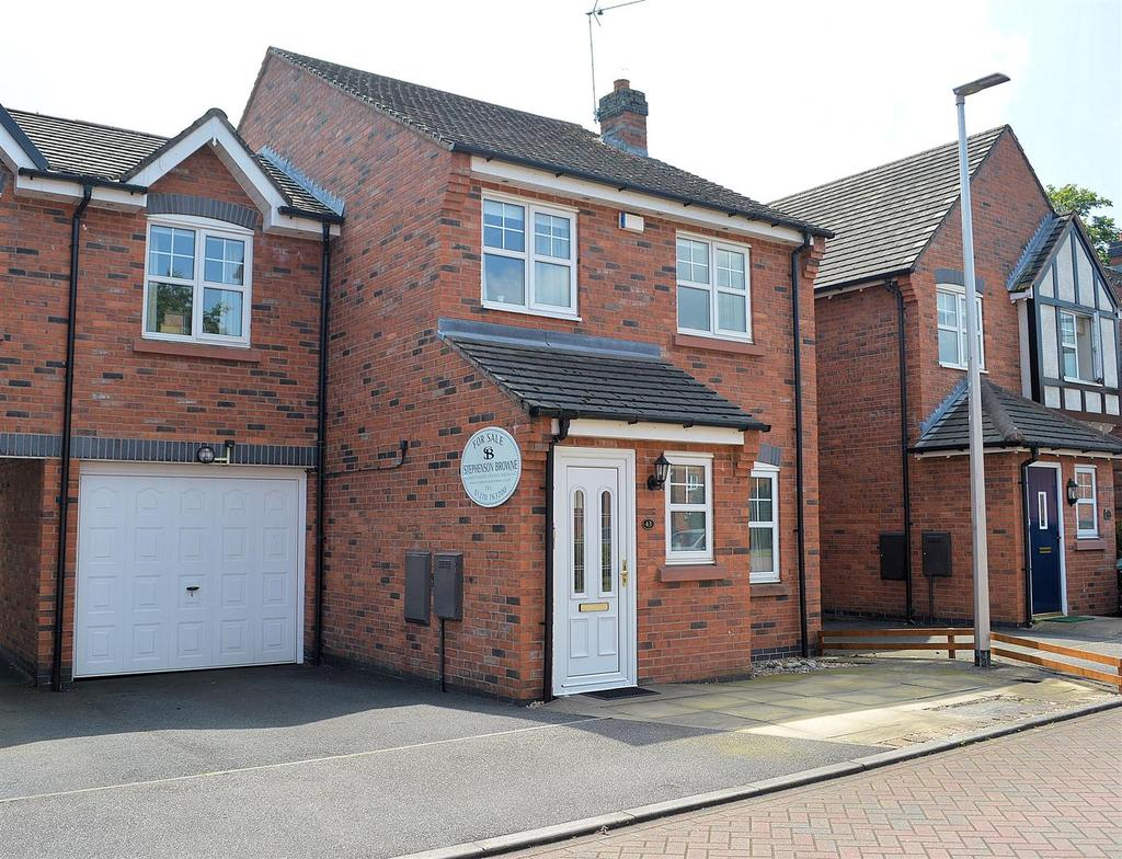 4 Bedrooms Link Detached House for sale in Sunnymill Drive, Sandbach