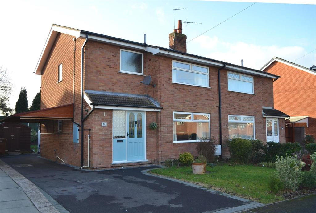 3 Bedrooms Semi Detached House for sale in Portland Grove, Haslington