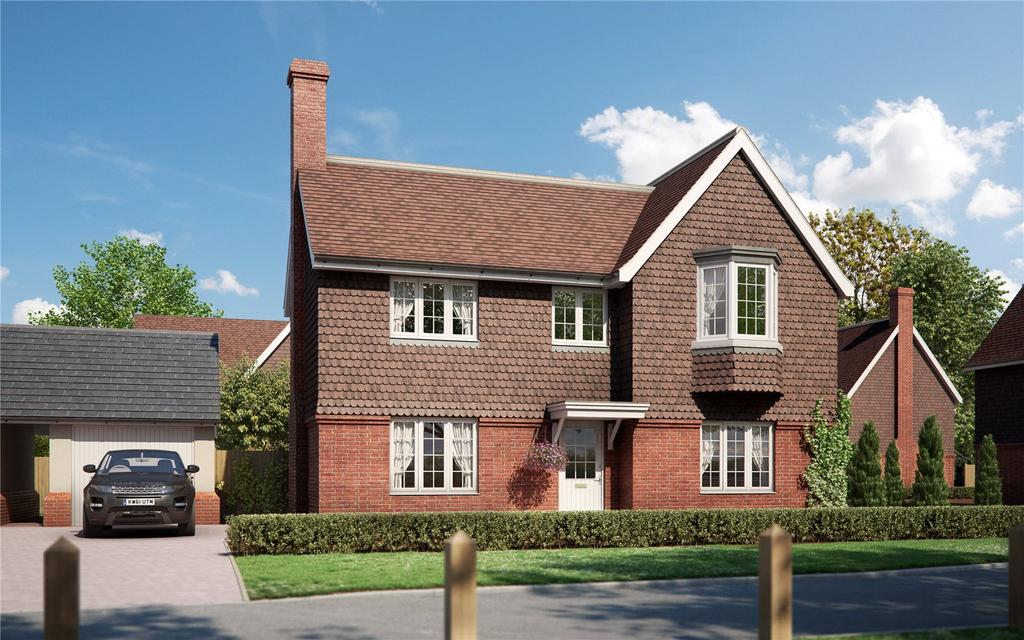 4 Bedrooms Detached House for sale in Malthouse Lane, Meath Green, Horley, Surrey, RH6