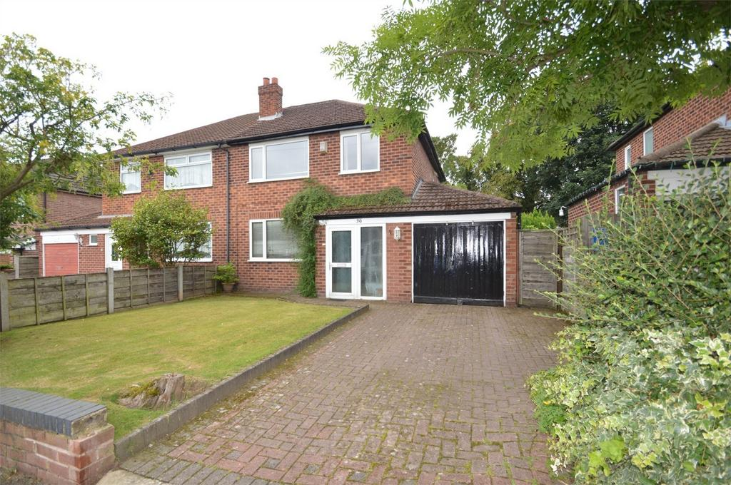 3 Bedrooms Semi Detached House for sale in St Martins Road, SALE, Cheshire