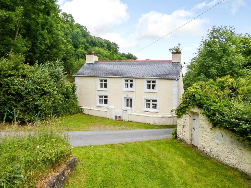 5 Bedrooms Detached House for sale in Nr Cwmtydu, New Quay, Llandysul, Ceredigion, SA44