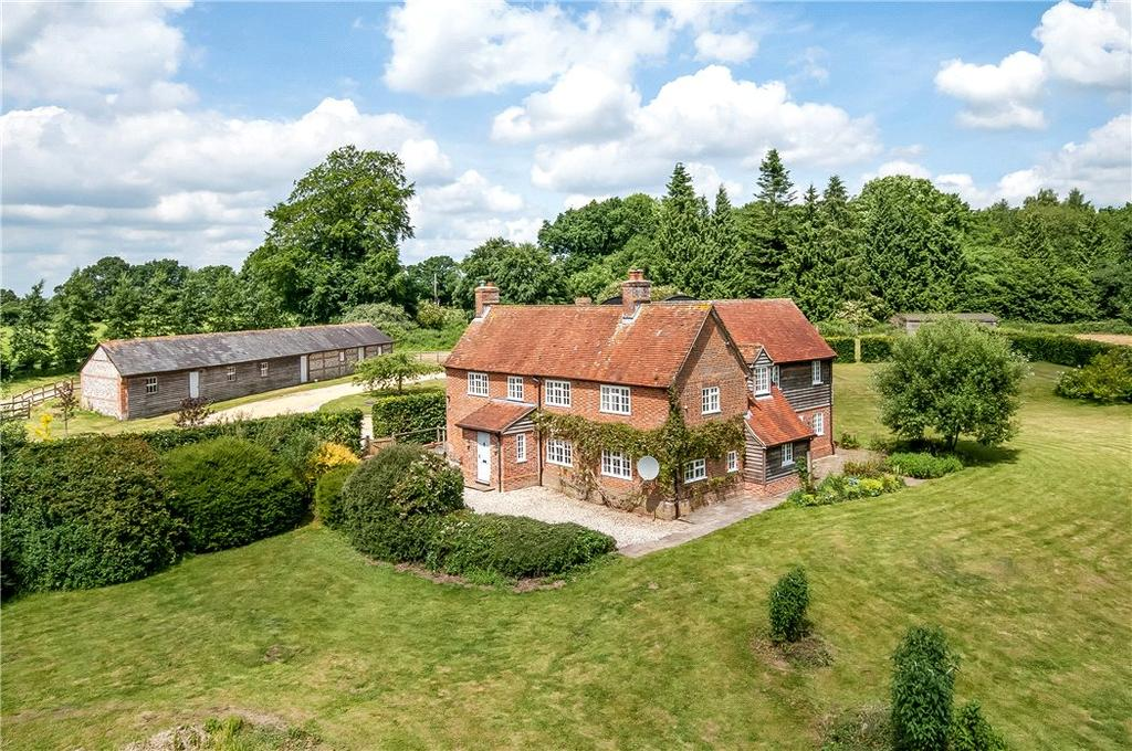 5 Bedrooms Detached House for sale in Dunley, Whitchurch, Hampshire, RG28
