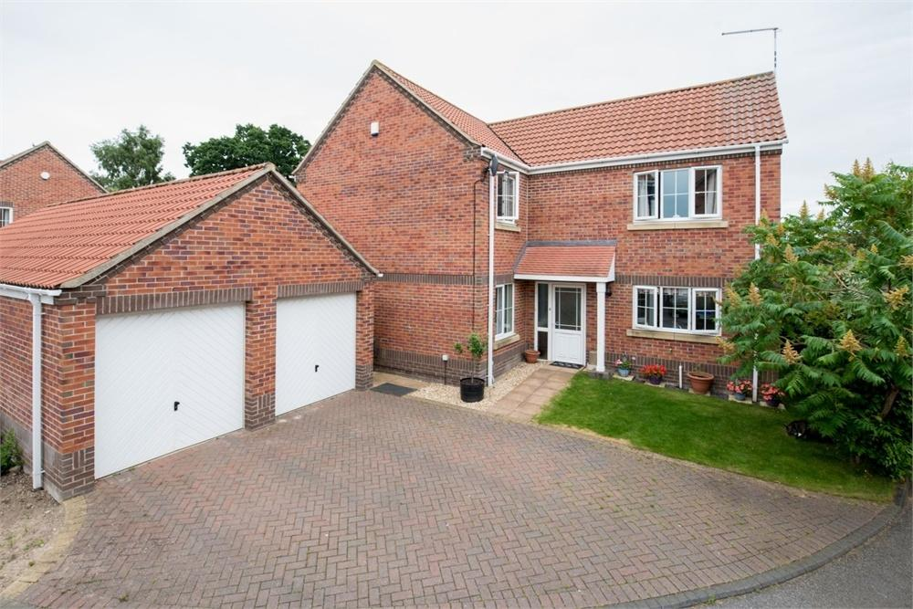 4 Bedrooms Detached House for sale in Sail Close, Boston, Lincolnshire