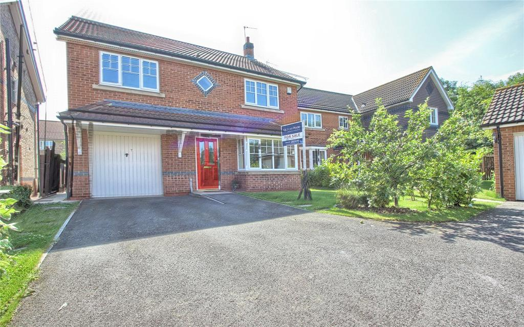 4 Bedrooms Detached House for sale in Horndale Close, Redcar