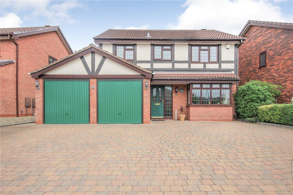 4 Bedrooms Detached House for sale in Freshwater Drive, Lakeside, Brierley Hill, West Midlands, DY5
