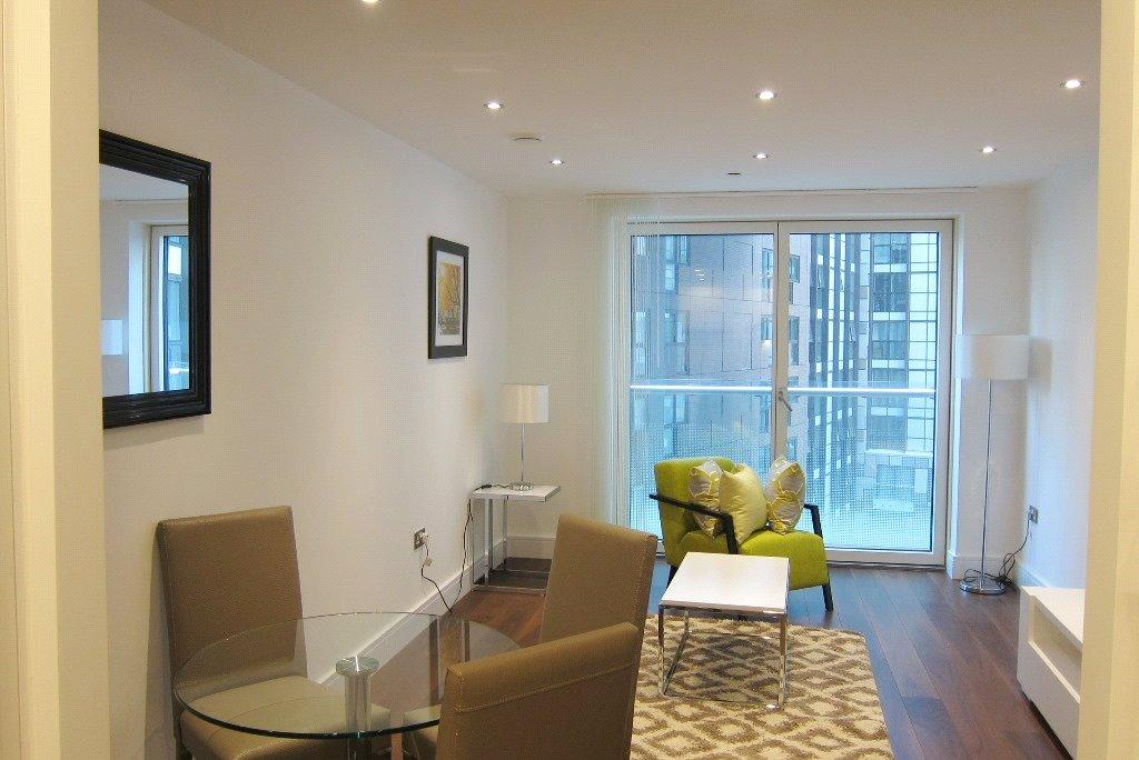 1 Bedroom House for sale in Talisman Tower, Lincoln Plaza, London, E14