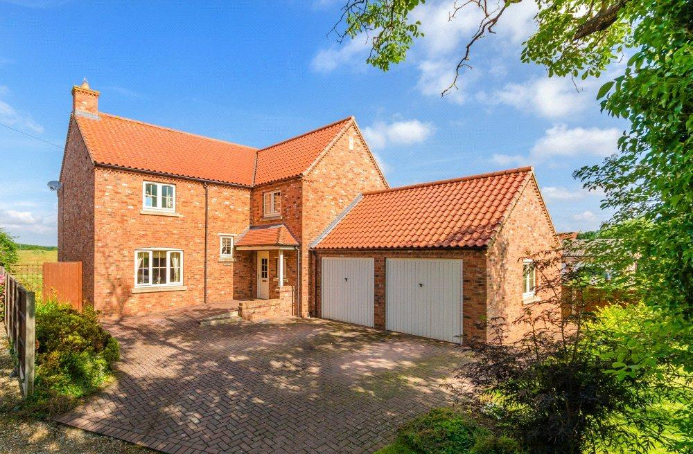 4 Bedrooms Detached House for sale in Church Lane, Kirkby-la-Thorpe, Sleaford, Lincolnshire, NG34