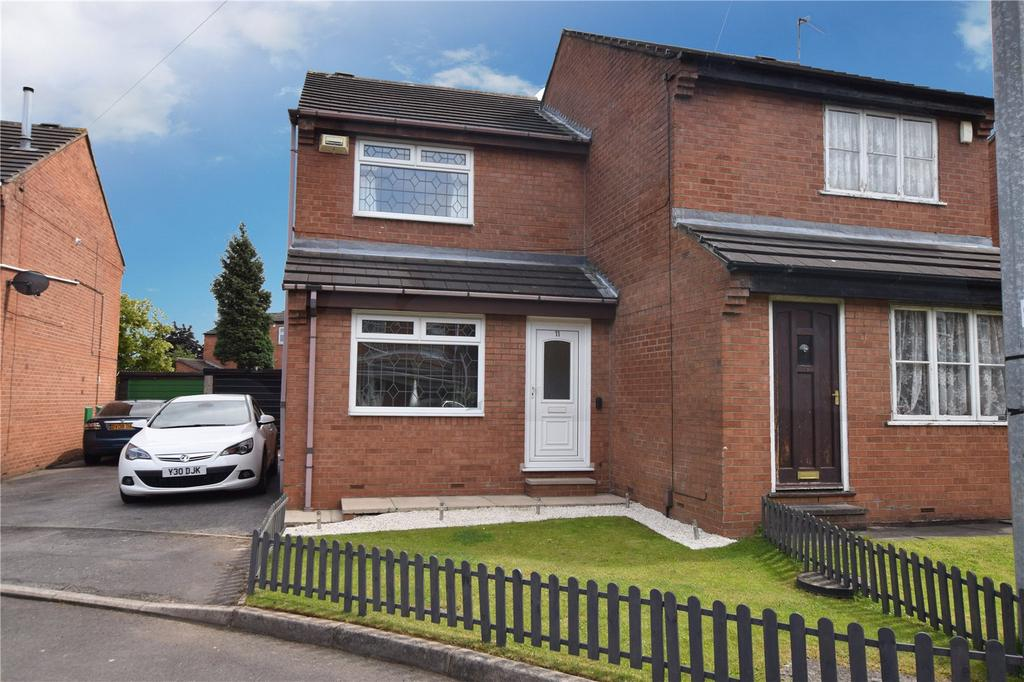 2 Bedrooms Semi Detached House for sale in Atha Crescent, Leeds, West Yorkshire, LS11