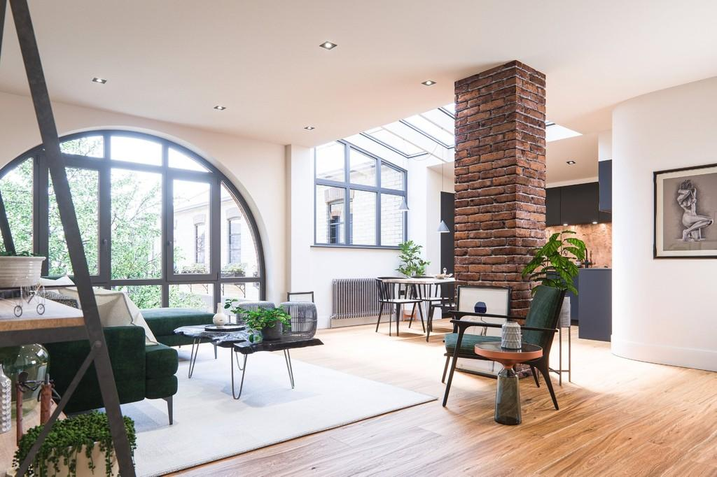 2 Bedrooms Apartment Flat for sale in The Metal Works, 7 Old Town, Clapham