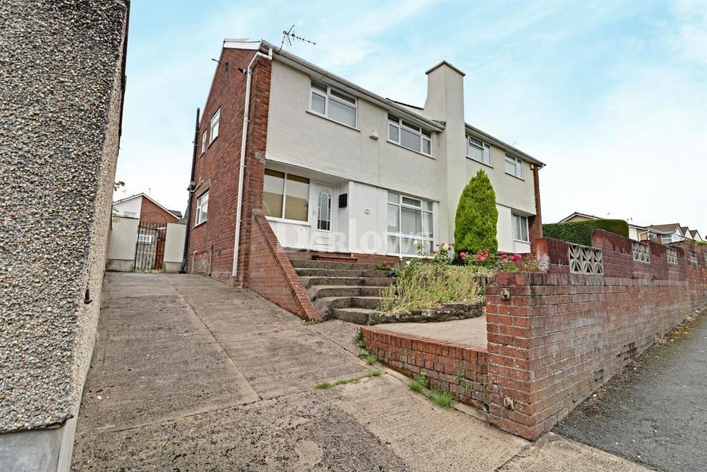 3 Bedrooms Semi Detached House for sale in Parklands Rd, Tonyrefail