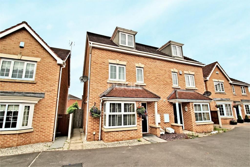4 Bedrooms Semi Detached House for sale in Sargeson Road, Armthorpe