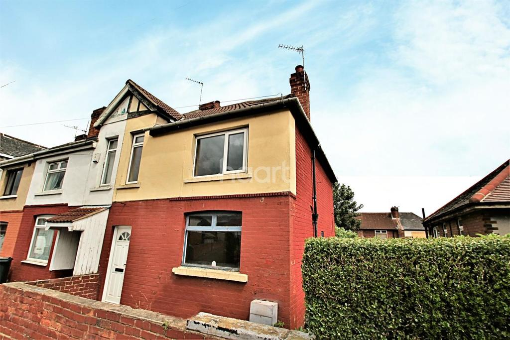 3 Bedrooms End Of Terrace House for sale in Dukes Crescent, Edlington