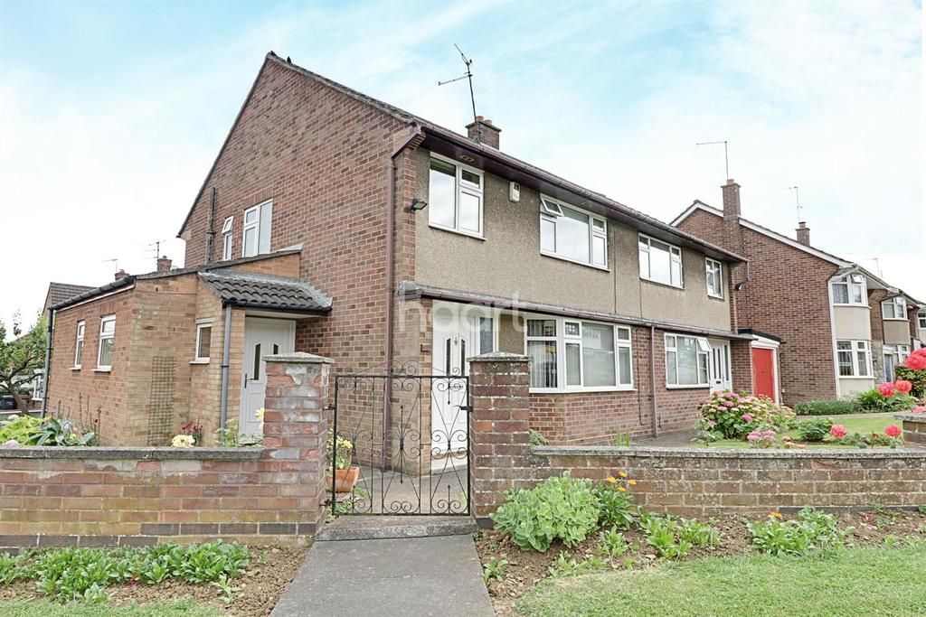 3 Bedrooms Semi Detached House for sale in Cotswold Avenue, Duston, Northampton