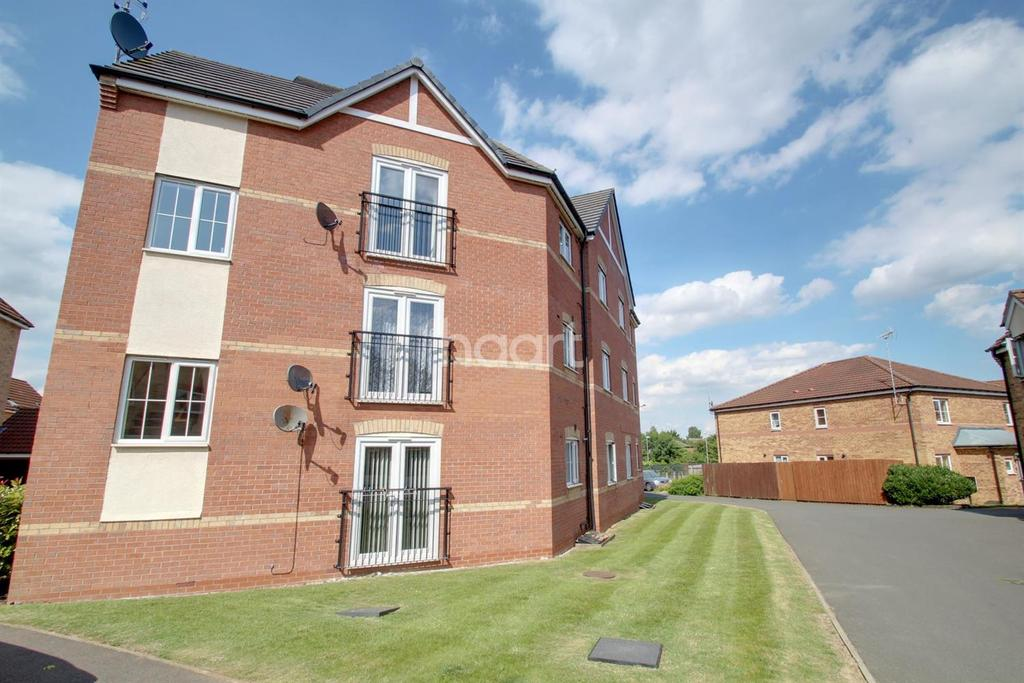 2 Bedrooms Flat for sale in Stackyard Close, Thorpe Astley, Leicester