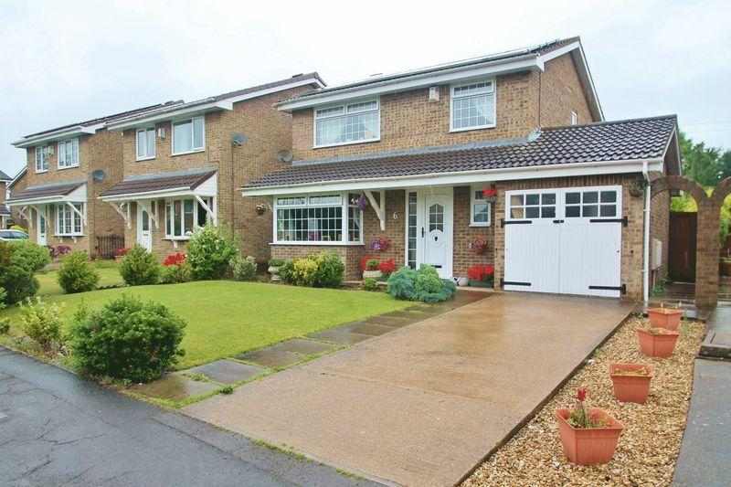 4 Bedrooms Detached House for sale in Beeford Close, Billingham