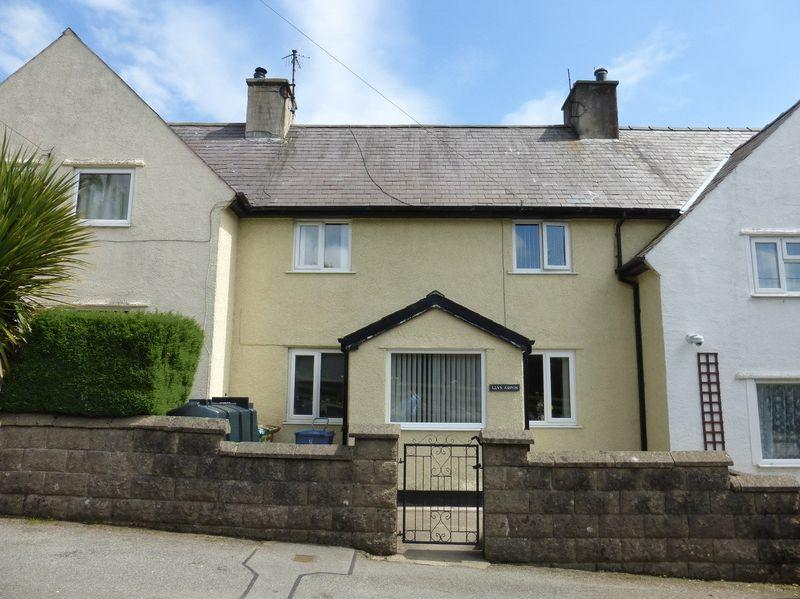 3 Bedrooms Terraced House for sale in Brynrefail