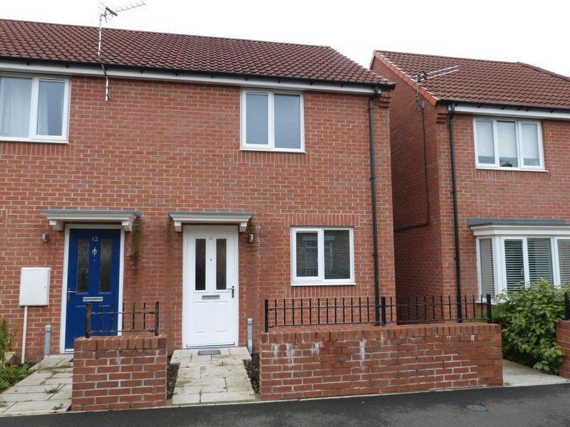 2 Bedrooms End Of Terrace House for sale in Redworth Mews, Ashington, Two Bedroom End Terrace