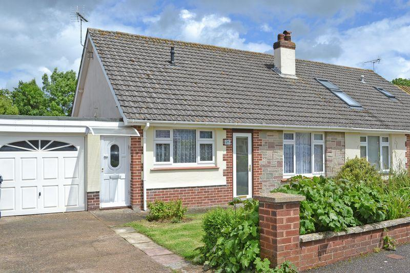 2 Bedrooms Semi Detached Bungalow for sale in Primley Mead, Sidmouth