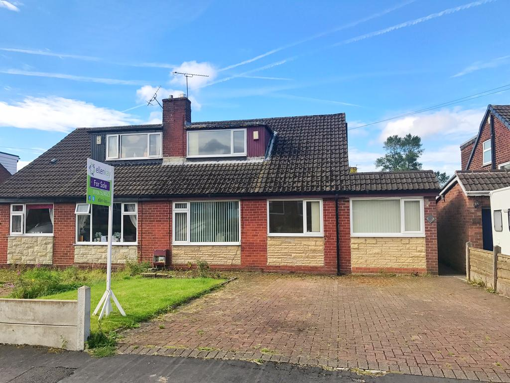 3 Bedrooms Semi Detached House for sale in Townley Road, Milnrow, Rochdale OL16