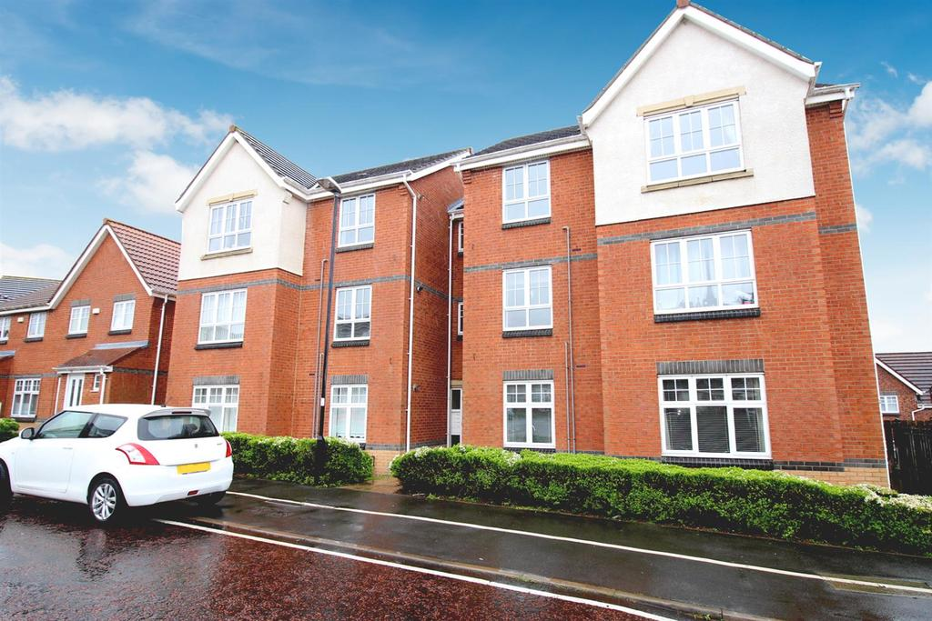 2 Bedrooms Flat for sale in Caesar Way, Wallsend
