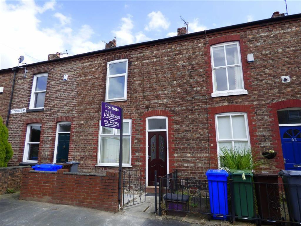 2 Bedrooms Terraced House for sale in St Georges Road, Ladybarn, Manchester, M14