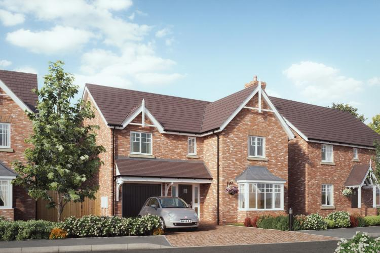 4 Bedrooms Detached House for sale in Plot 3, The Westminster, Chetwynd, Newport, TF10 7JZ