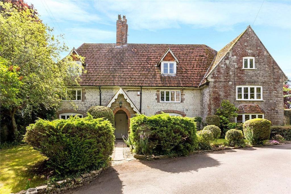 5 Bedrooms Detached House for sale in Church Road, Liddington, Wiltshire