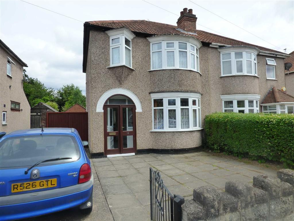 3 Bedrooms Semi Detached House for sale in Ash Tree Avenue, Coventry