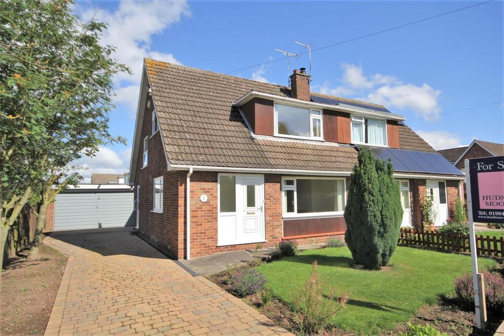 3 Bedrooms Semi Detached Bungalow for sale in Pear Tree Lane, Dunnington, York, YO19