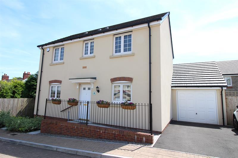3 Bedrooms Detached House for sale in Mill View Close, Caerphilly