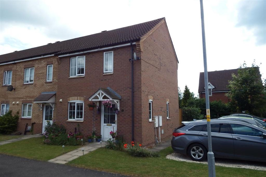 2 Bedrooms End Of Terrace House for sale in Jasmine Court, Spalding, PE11