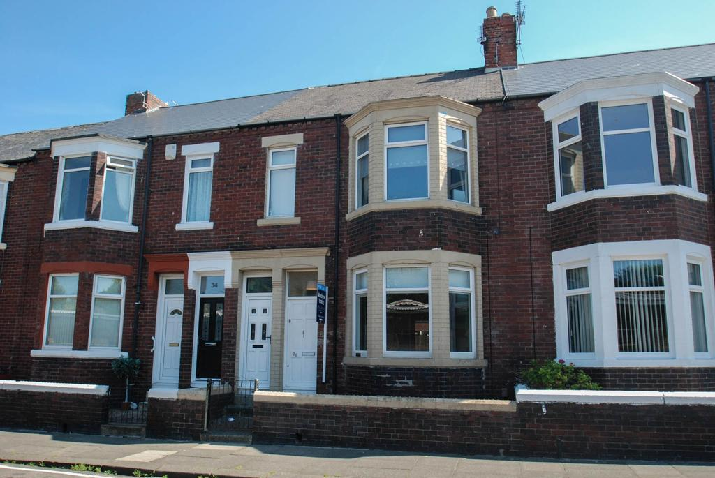 2 Bedrooms Flat for sale in Egerton Road, South Shields