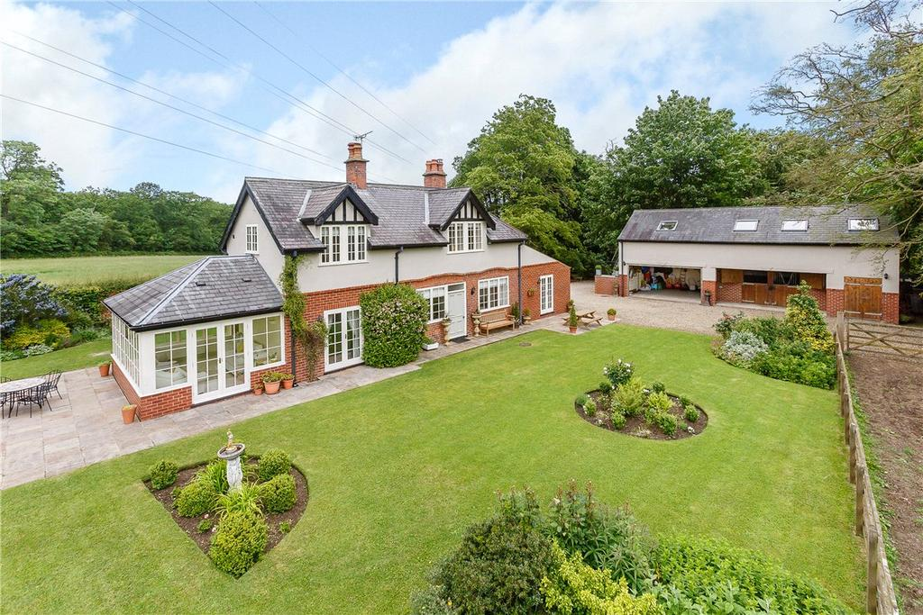 4 Bedrooms Detached House for sale in Crow Wood Cottage, South Stainley, Near Harrogate, North Yorkshire, HG3