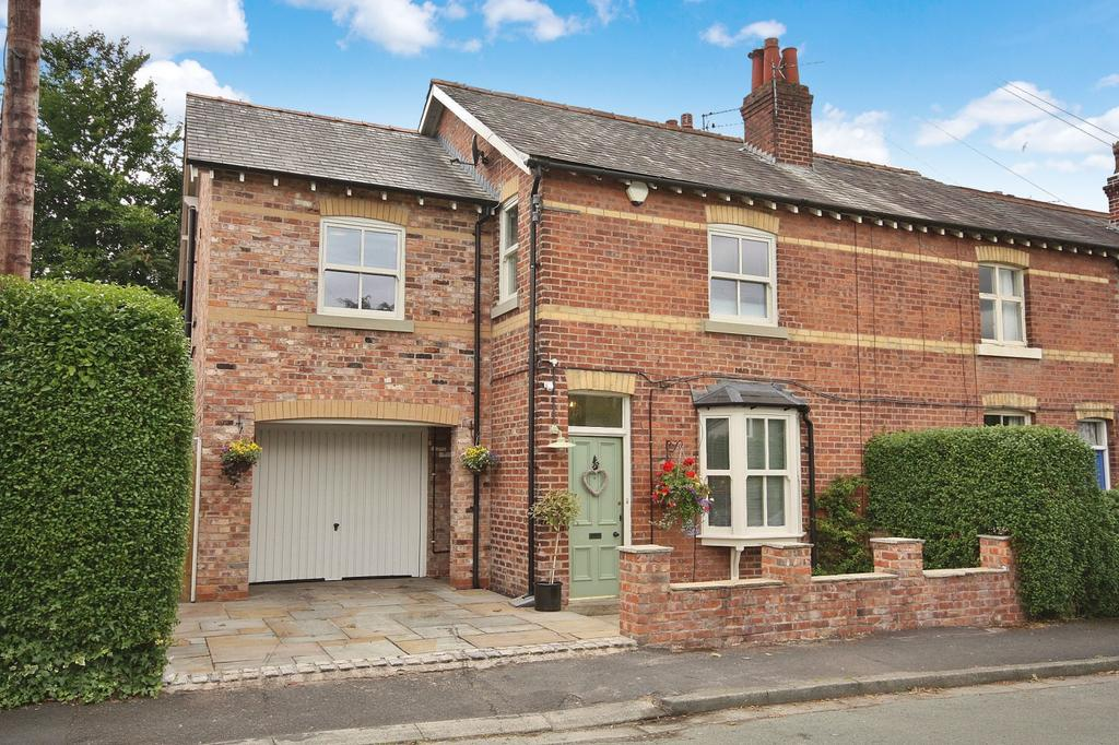 4 Bedrooms End Of Terrace House for sale in Church Road, Wilmslow