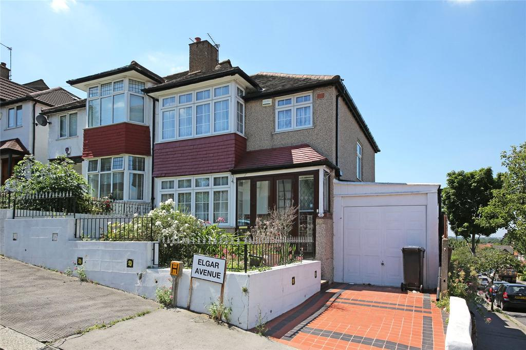 3 Bedrooms End Of Terrace House for sale in Elgar Avenue, Norbury, SW16