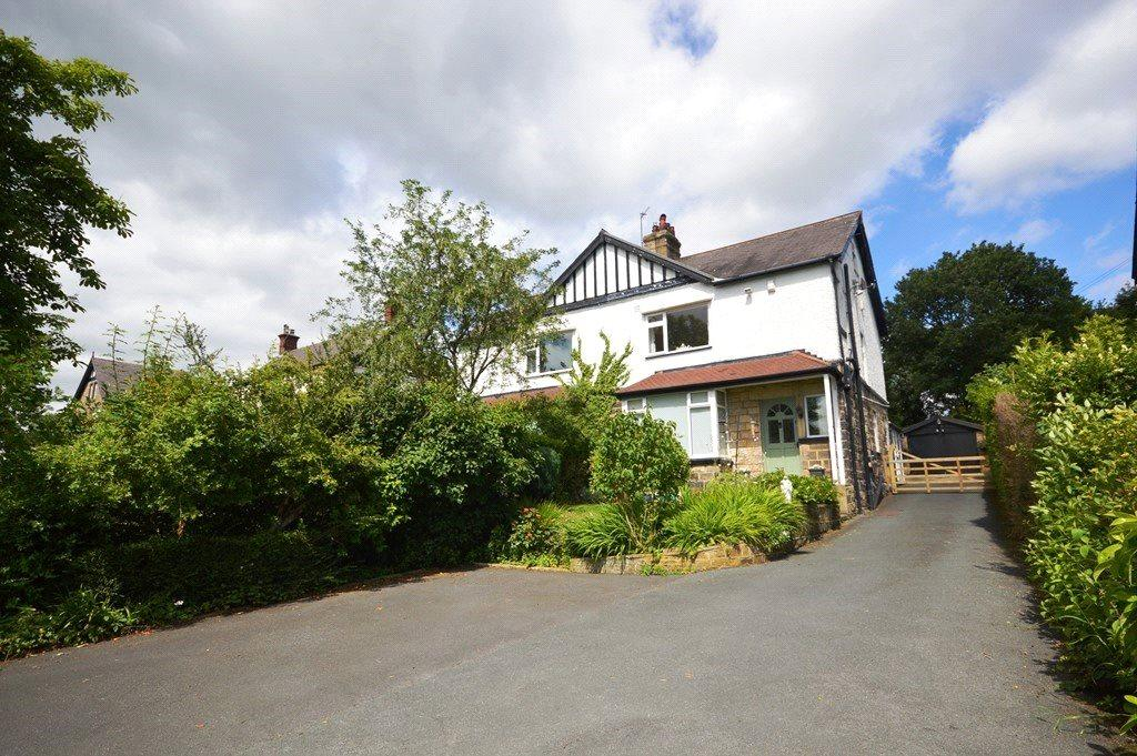 3 Bedrooms Semi Detached House for sale in Rawdon Road, Horsforth, Leeds, West Yorkshire
