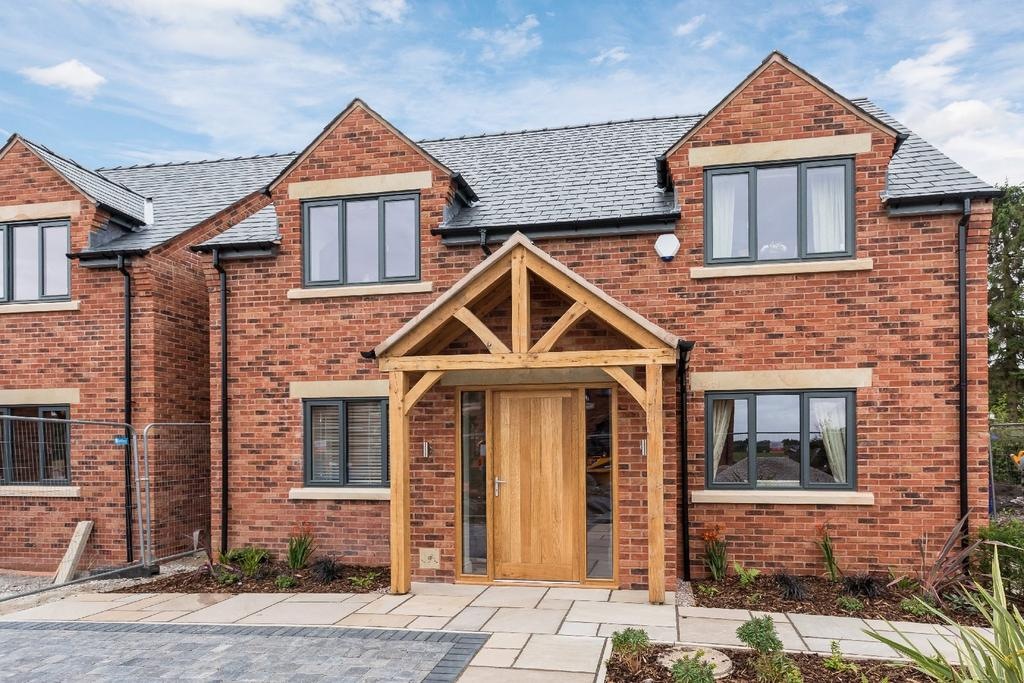 4 Bedrooms Detached House for sale in Springbank Farm, Coppice Road, Poynton