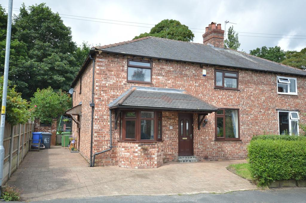 4 Bedrooms Semi Detached House for sale in Fairfield Road, Lymm