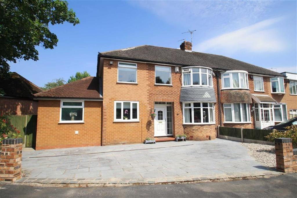 4 Bedrooms Semi Detached House for sale in Ullswater Road, Handforth