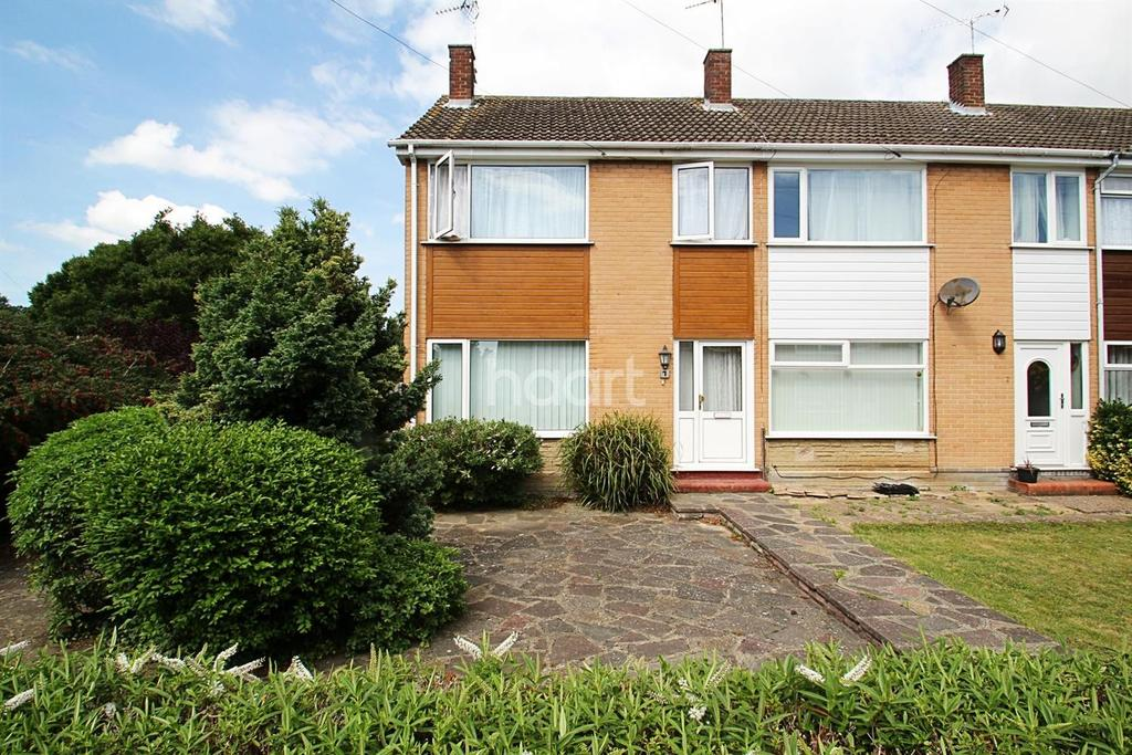3 Bedrooms End Of Terrace House for sale in Priory Close, Broadstairs, CT10