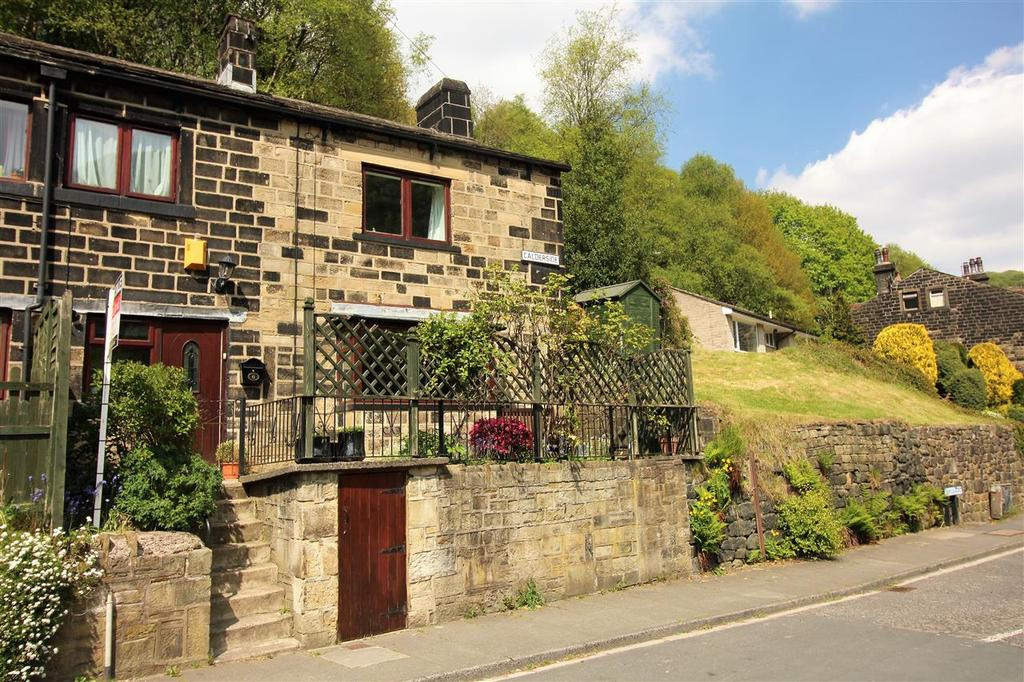 2 Bedrooms Cottage House for sale in Calderside, Oakville Road, Hebden Bridge