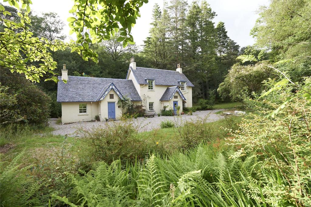 4 Bedrooms Detached House for sale in Polnish House, Lochailort, Inverness-Shire, PH38