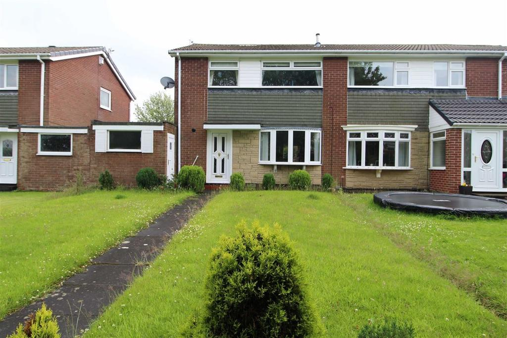 3 Bedrooms Semi Detached House for sale in Newmin Way, Whickham, Newcastle Upon Tyne