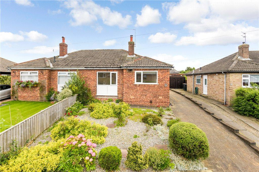 2 Bedrooms Semi Detached Bungalow for sale in Meadow Croft, Harrogate, North Yorkshire