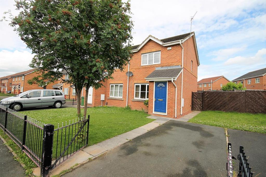 2 Bedrooms Semi Detached House for sale in Hive Close, Stockton-On-Tees