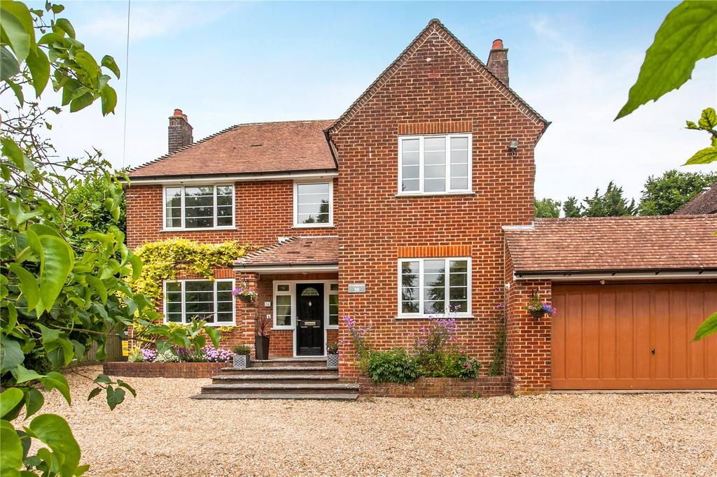 4 Bedrooms Detached House for sale in Romsey Road, Winchester, Hampshire, SO22