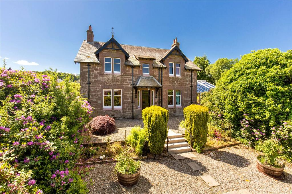 4 Bedrooms Detached House for sale in Highfield, 104 Willoughby Street, Muthill, Crieff, PH5