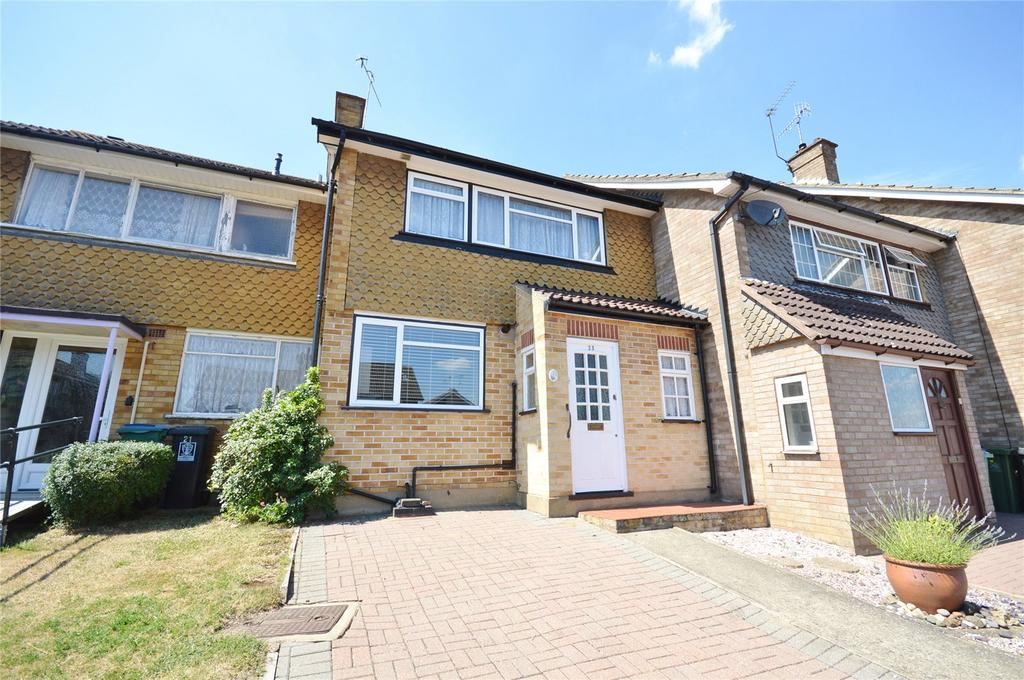 3 Bedrooms Terraced House for sale in Severn Way, Garston, Hertfordshire, WD25