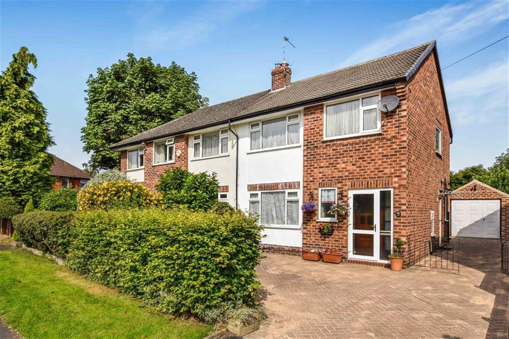 3 Bedrooms Semi Detached House for sale in Bloomsbury Lane, Timperley, Cheshire, WA15